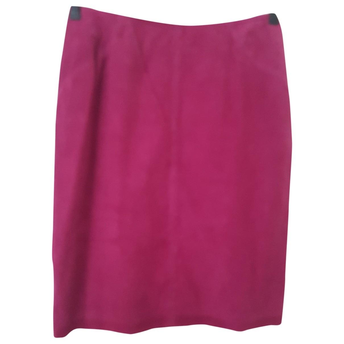 Tara Jarmon \N Suede skirt for Women 40 FR