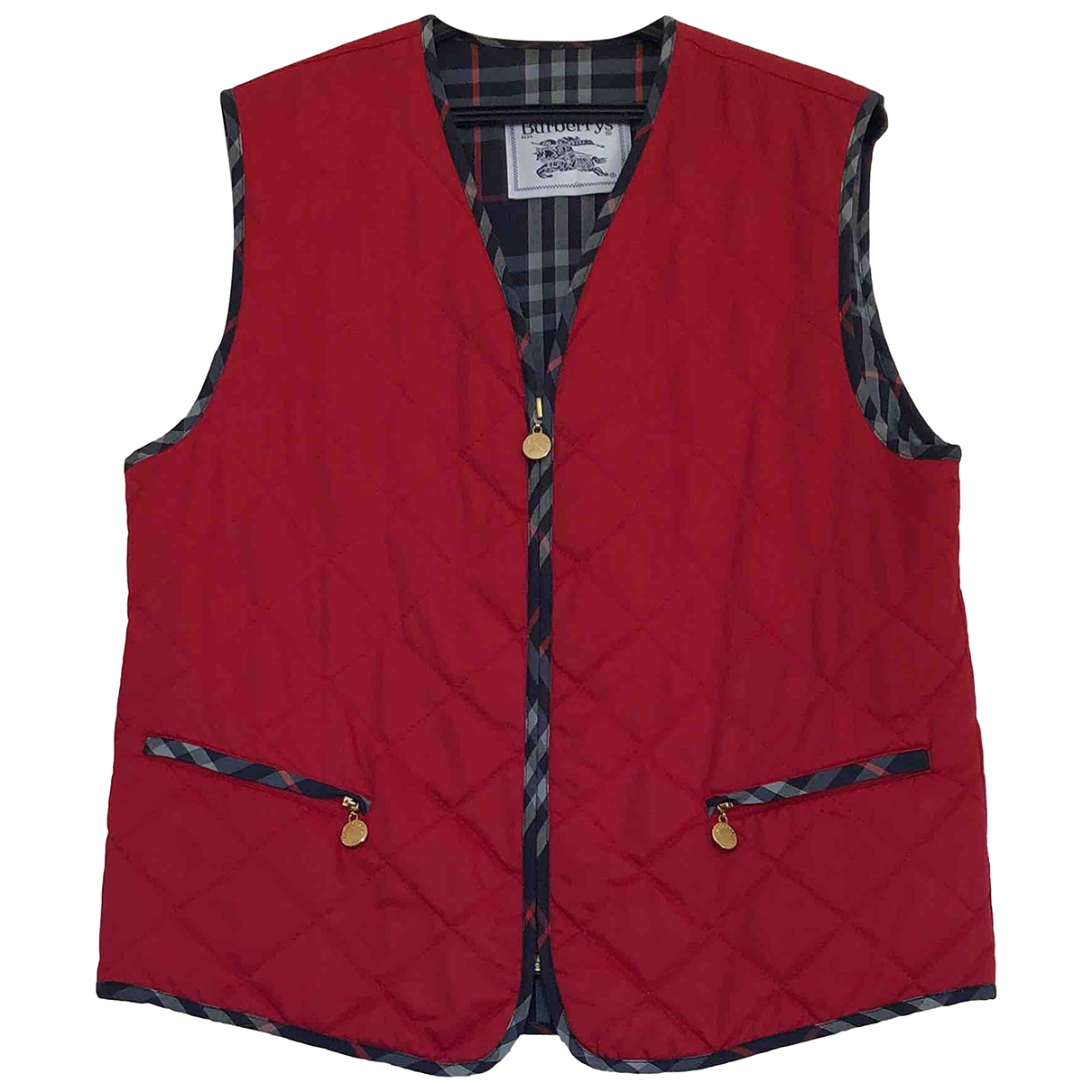 Burberry \N Red jacket for Women 40 FR