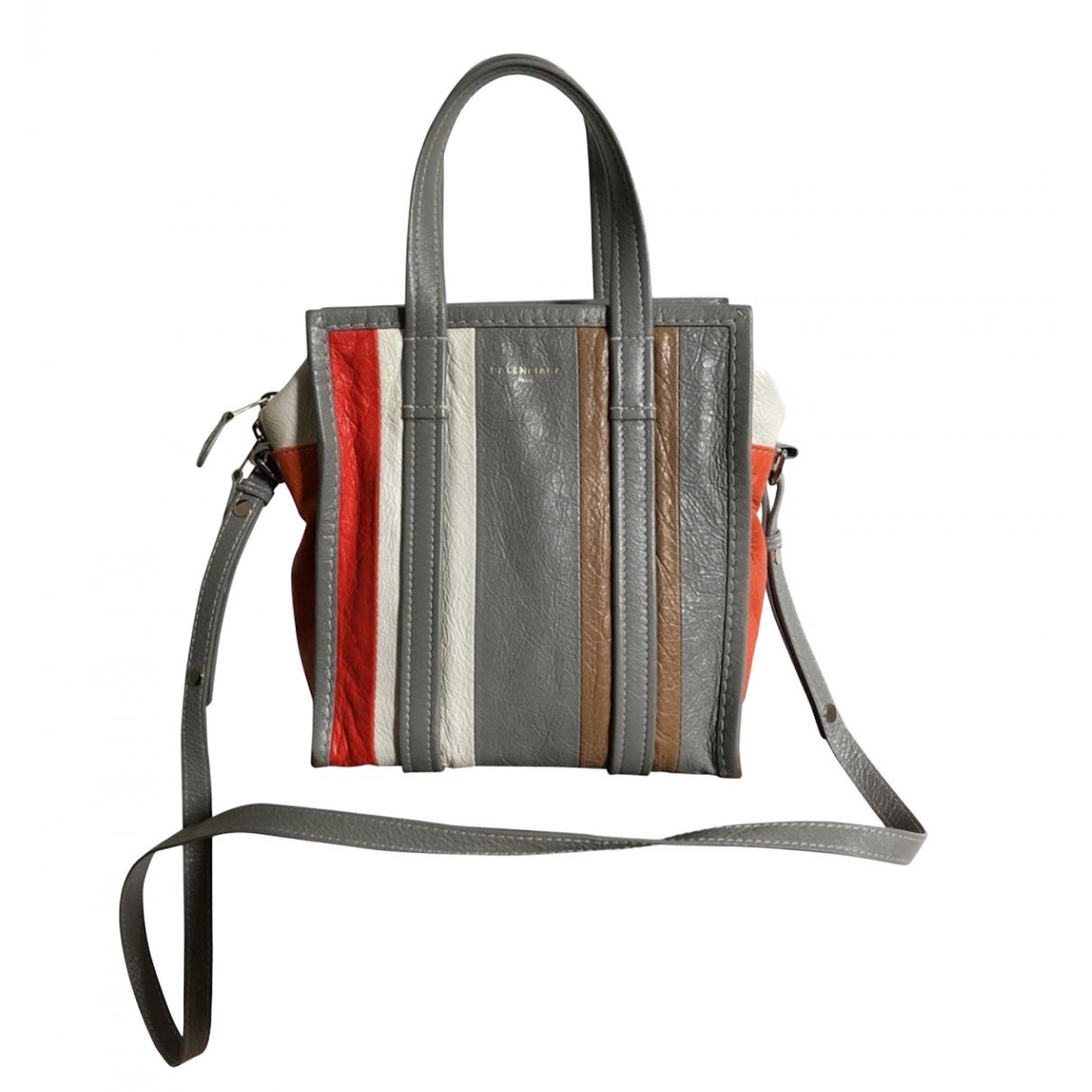 Cabas Bazar Bag de Cuero Balenciaga