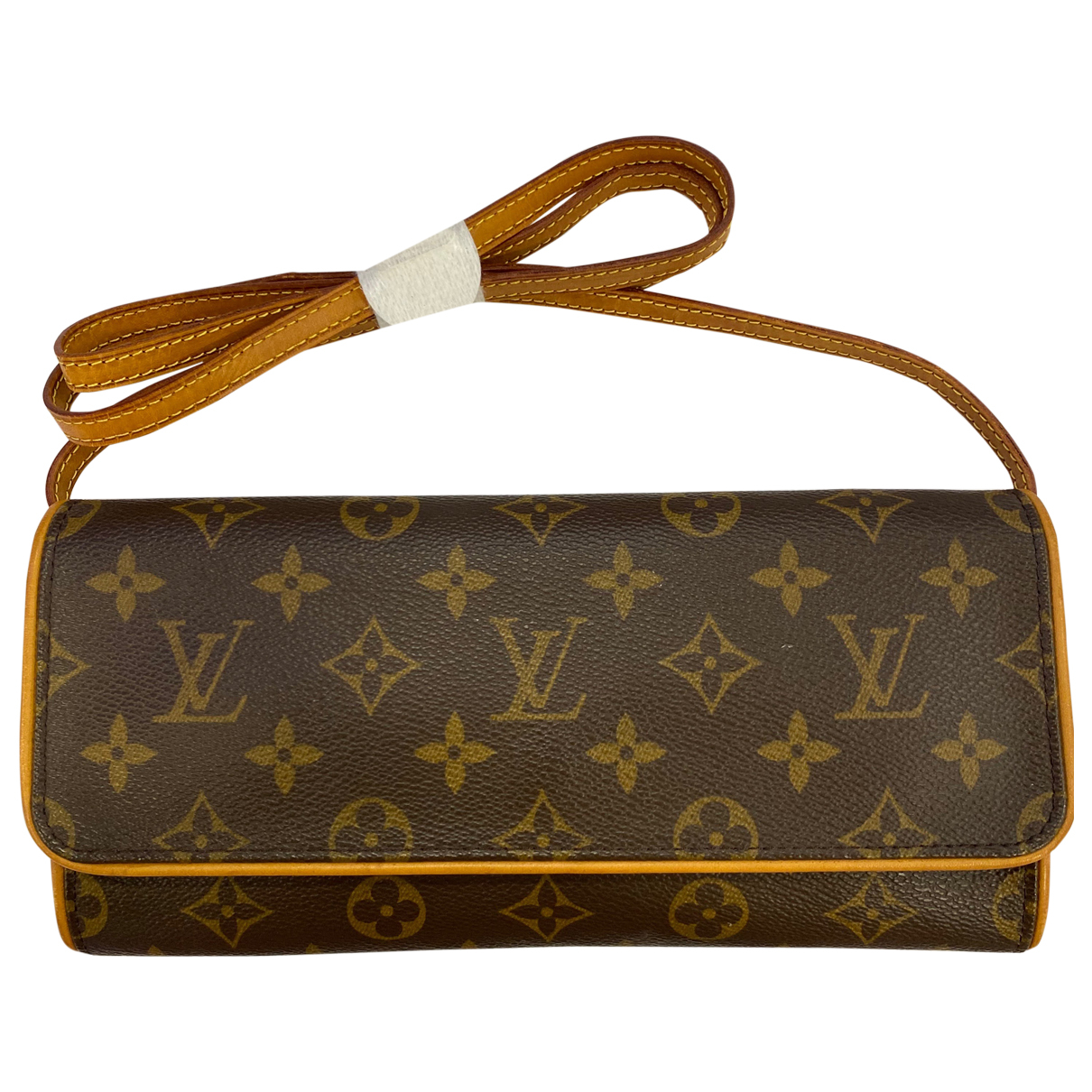 Louis Vuitton Twin Brown Cloth Clutch bag for Women \N