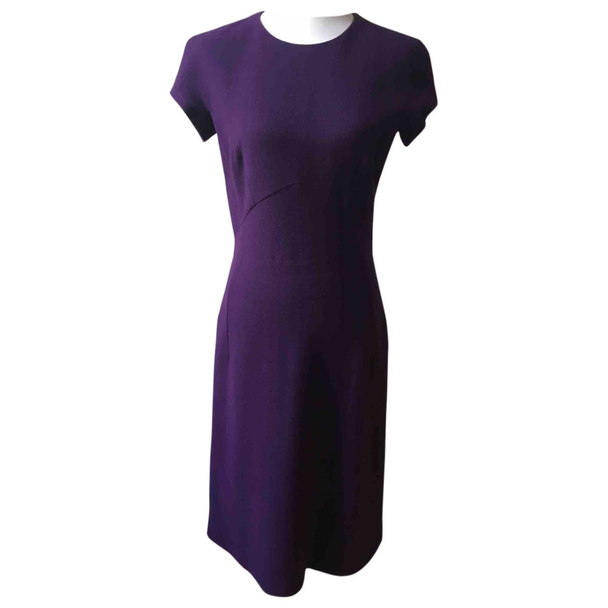 Bottega Veneta \N Kleid in  Lila Wolle