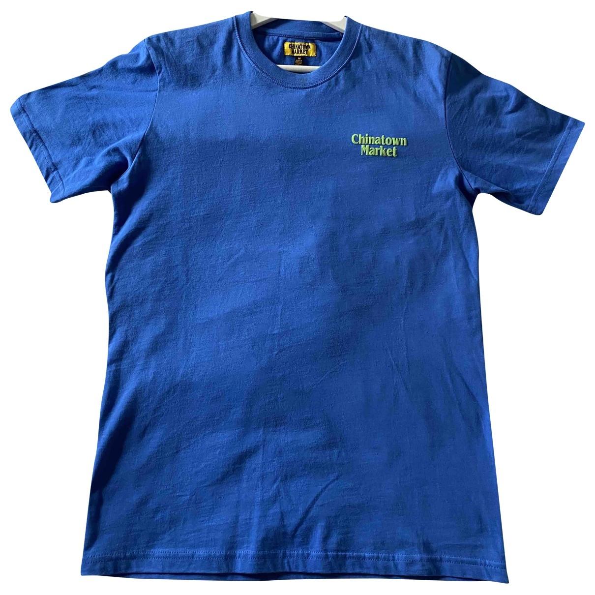 Chinatown Market \N Blue Cotton T-shirts for Men M International