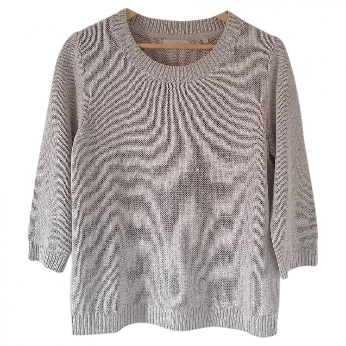 Non Signé / Unsigned \N Grey Cotton  top for Women 42 IT