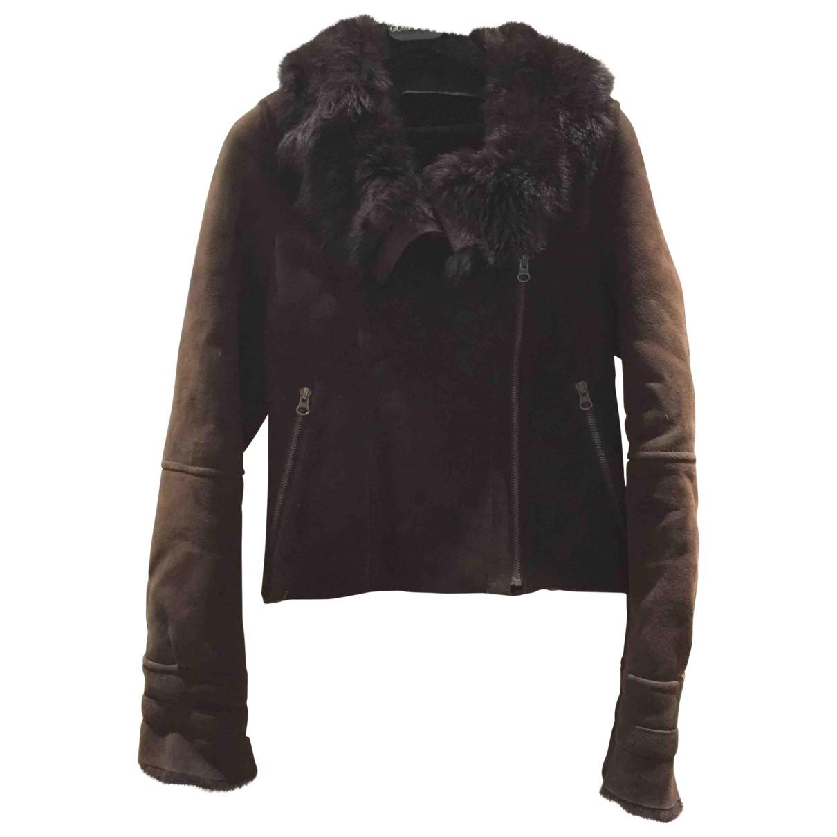 Zara N Brown Leather jacket for Women S International