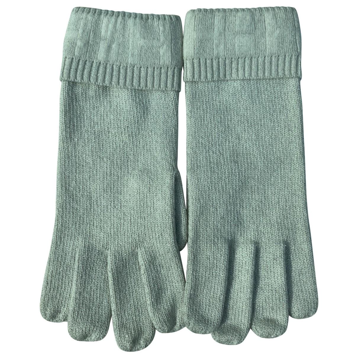Hermes \N Handschuhe in  Grau Kaschmir