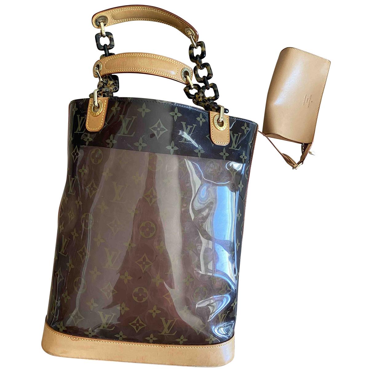 Louis Vuitton Ambre  Handtasche in  Braun Kunststoff