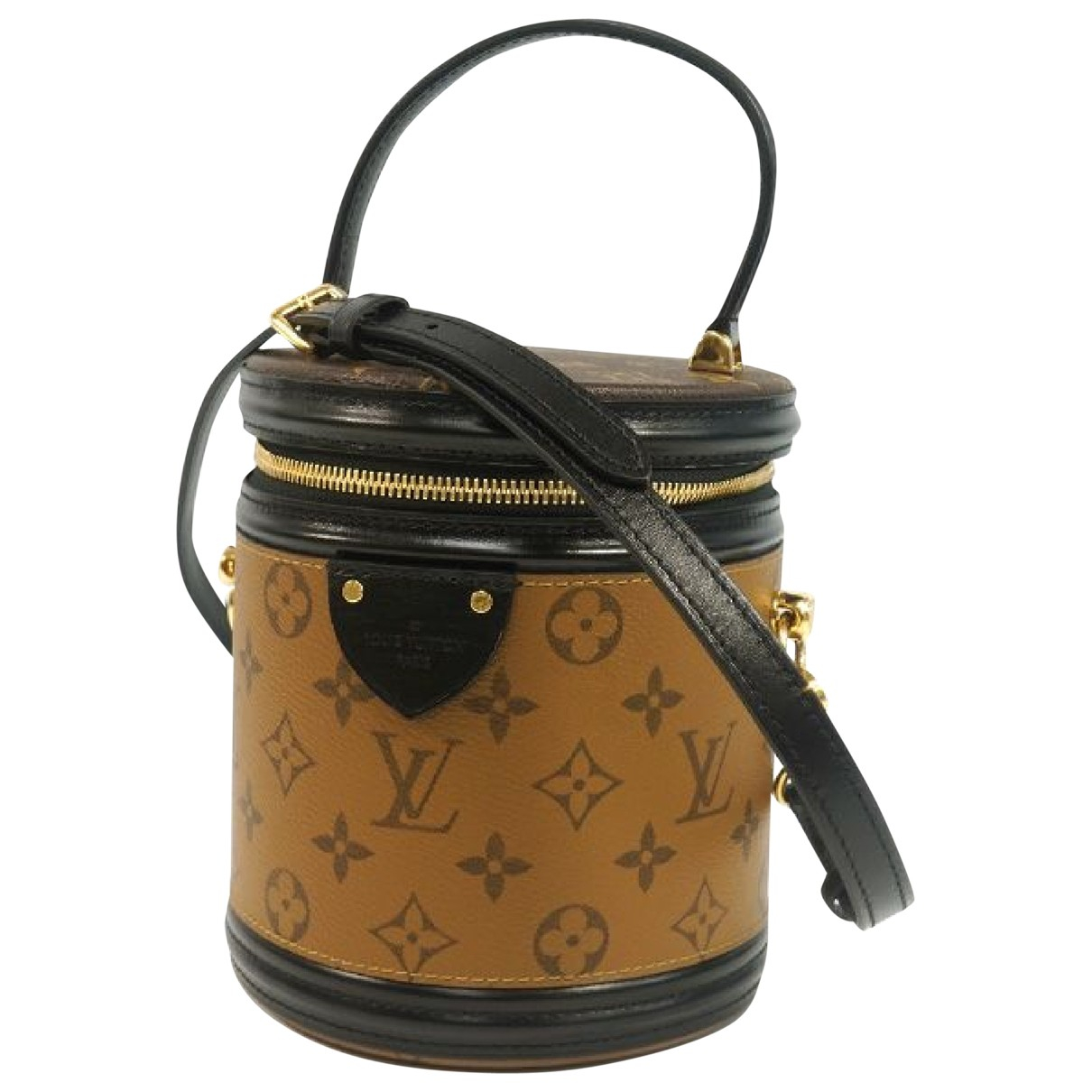 Louis Vuitton Cannes Brown Cloth handbag for Women \N