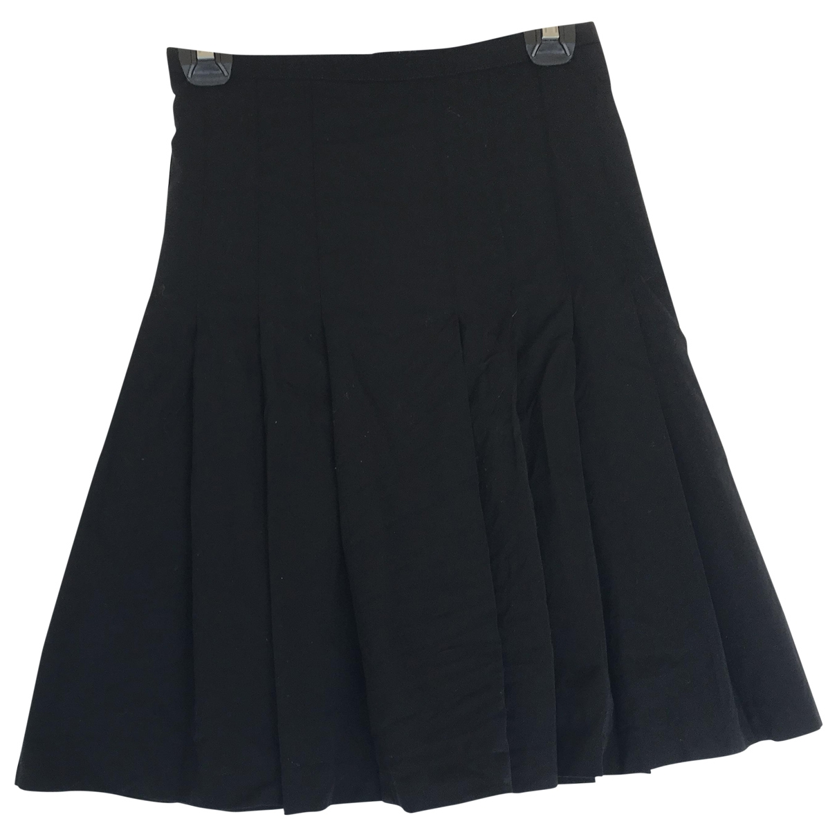 Agnès B. \N Black Wool skirt for Women 36 FR