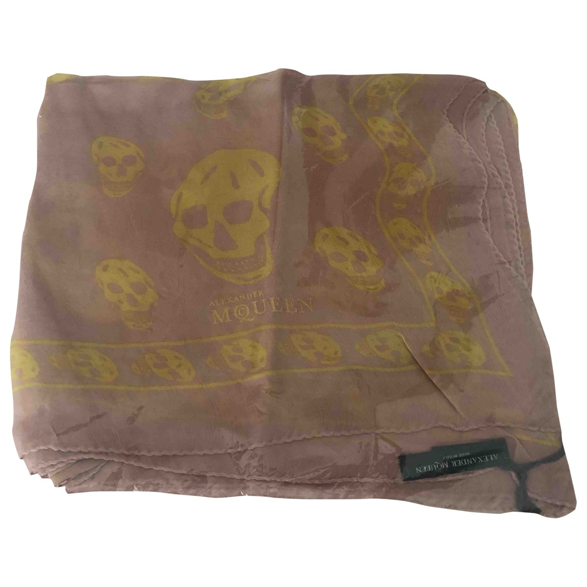 Alexander Mcqueen \N Multicolour Silk scarf for Women \N