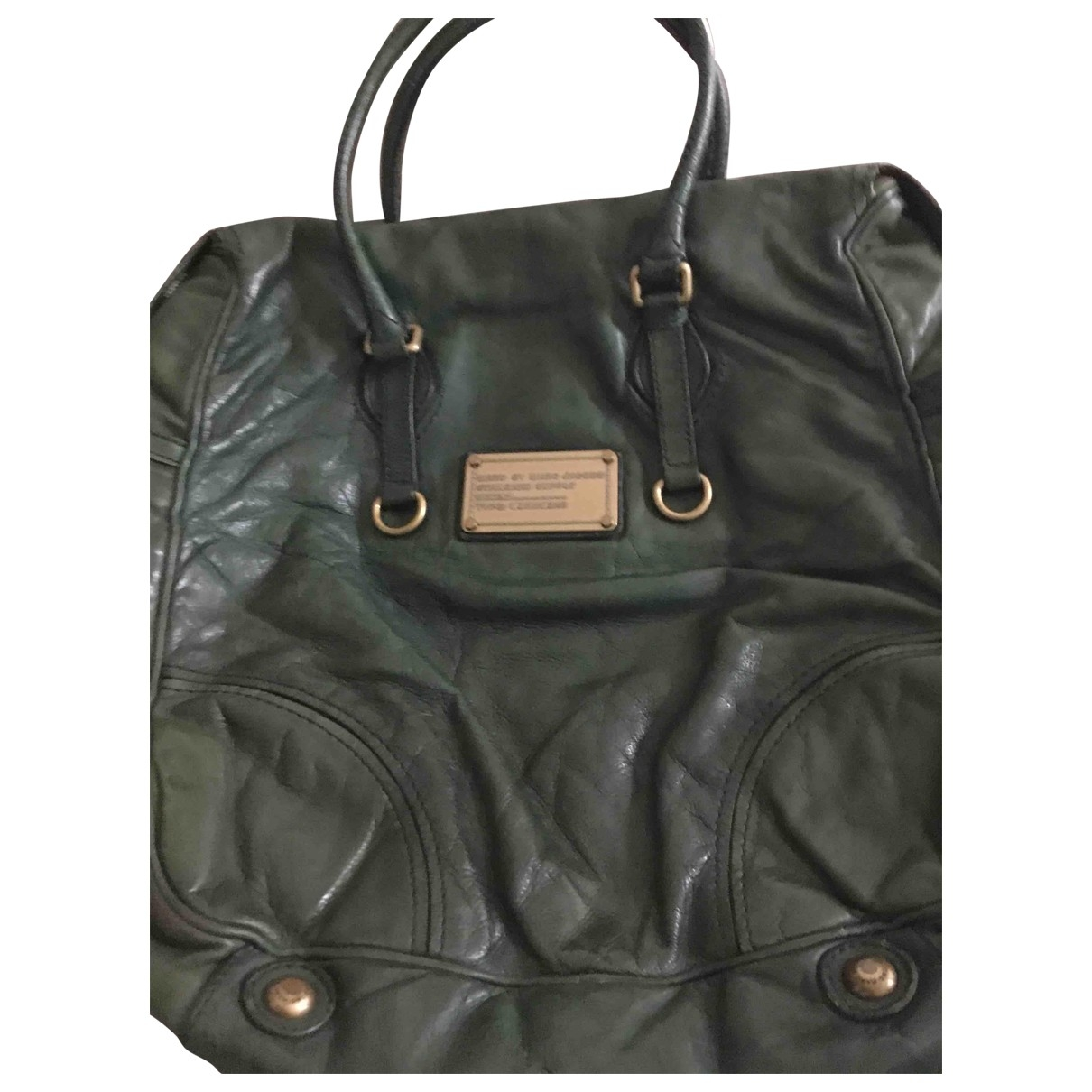 Marc By Marc Jacobs \N Handtasche in  Gruen Leder