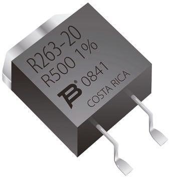 Bourns 30Ω Thick Film SMD Resistor ±5% 20W - PWR263S-20-30R0J