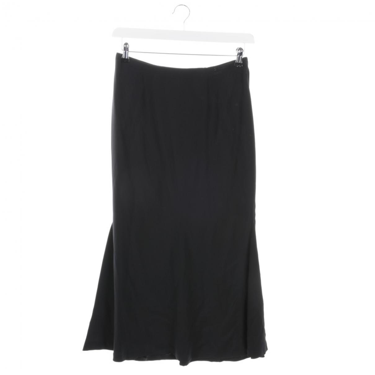 Chanel \N Black Silk skirt for Women 34 FR