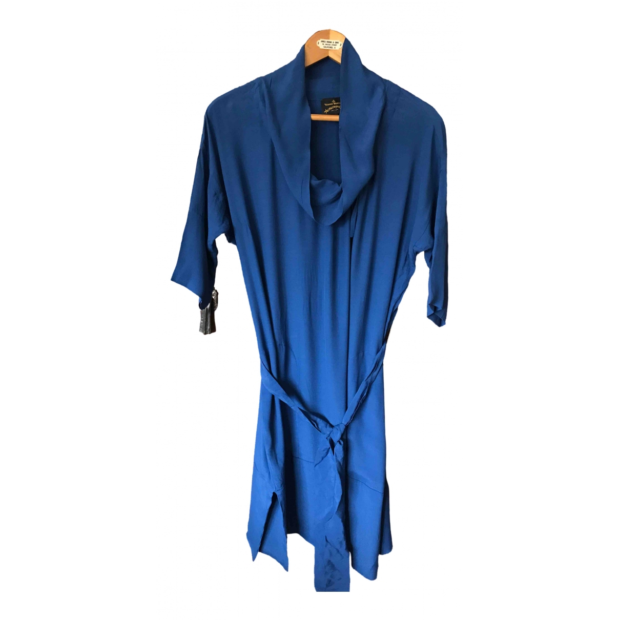 Vivienne Westwood Anglomania \N Blue dress for Women 42 IT