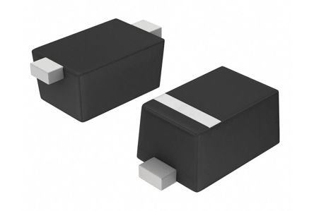 ON Semiconductor , 4.7V Zener Diode 2% 500 mW SMT 2-Pin SOD-523 (100)