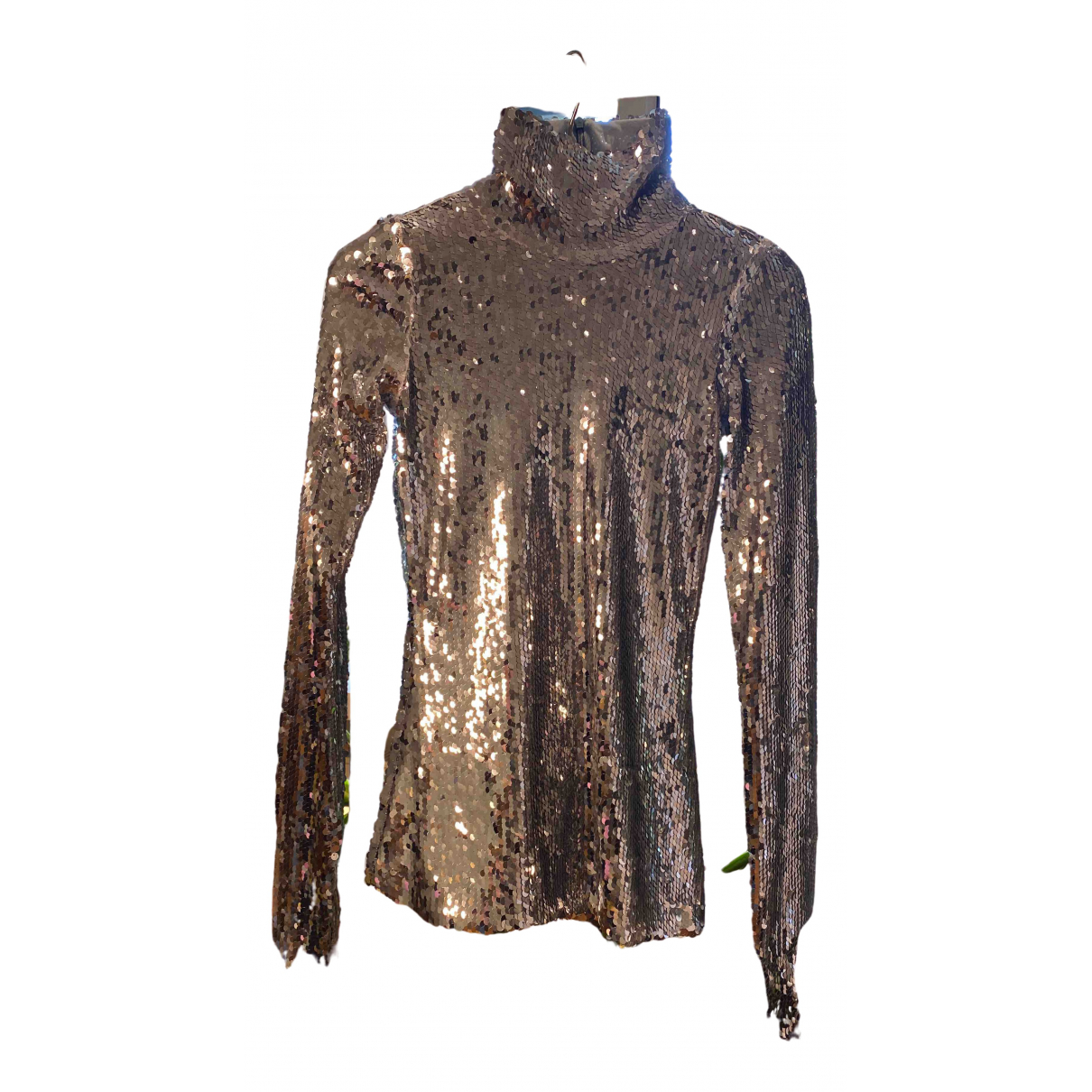 Atto \N Top in  Silber Polyester