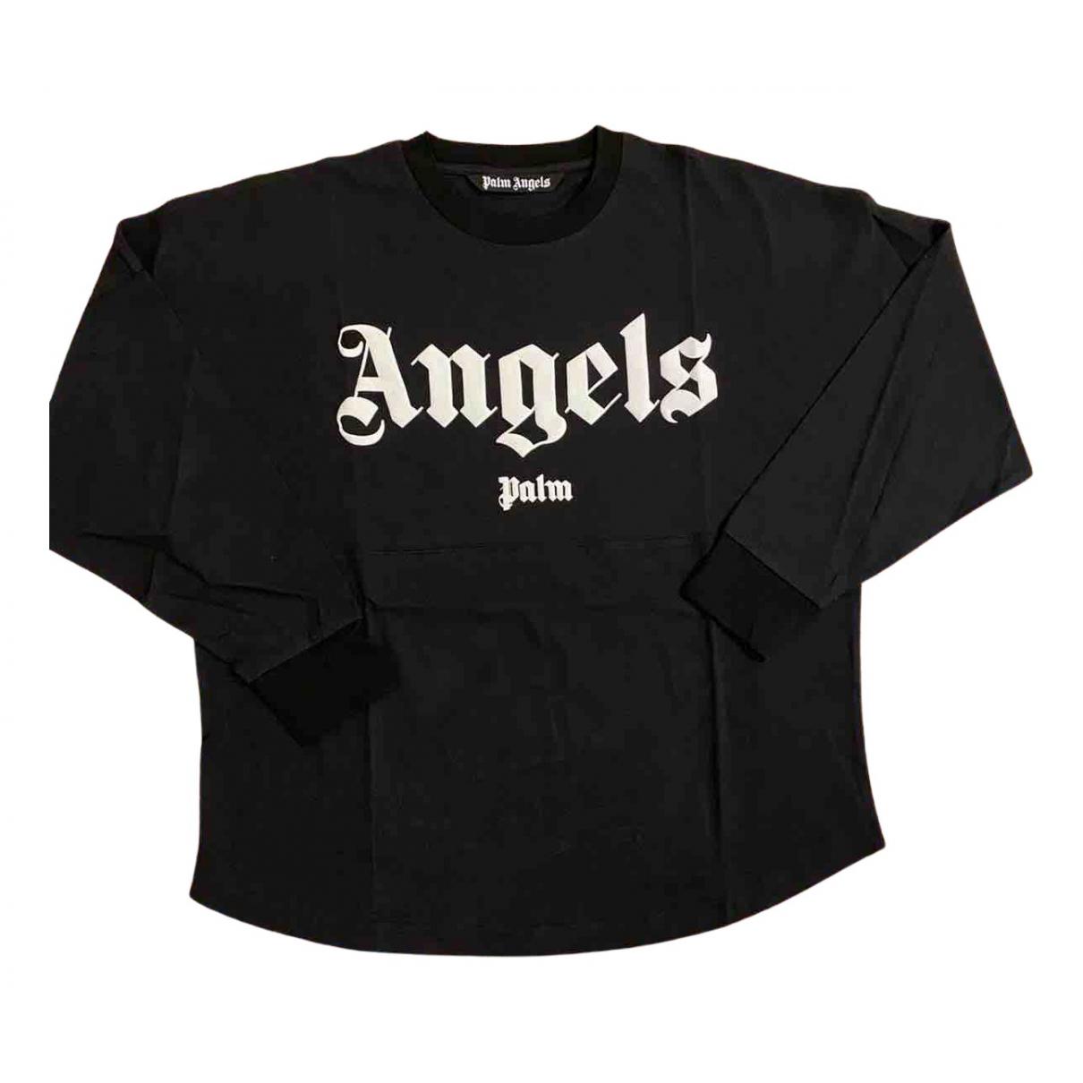 Palm Angels - Tee shirts   pour homme en coton - noir