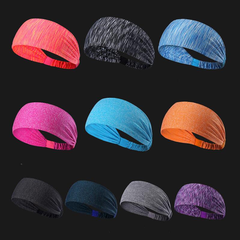 Sports Yoga Hairbands Antiperspirant scarves Quick-drying Sweatbands Running Fitness Headband