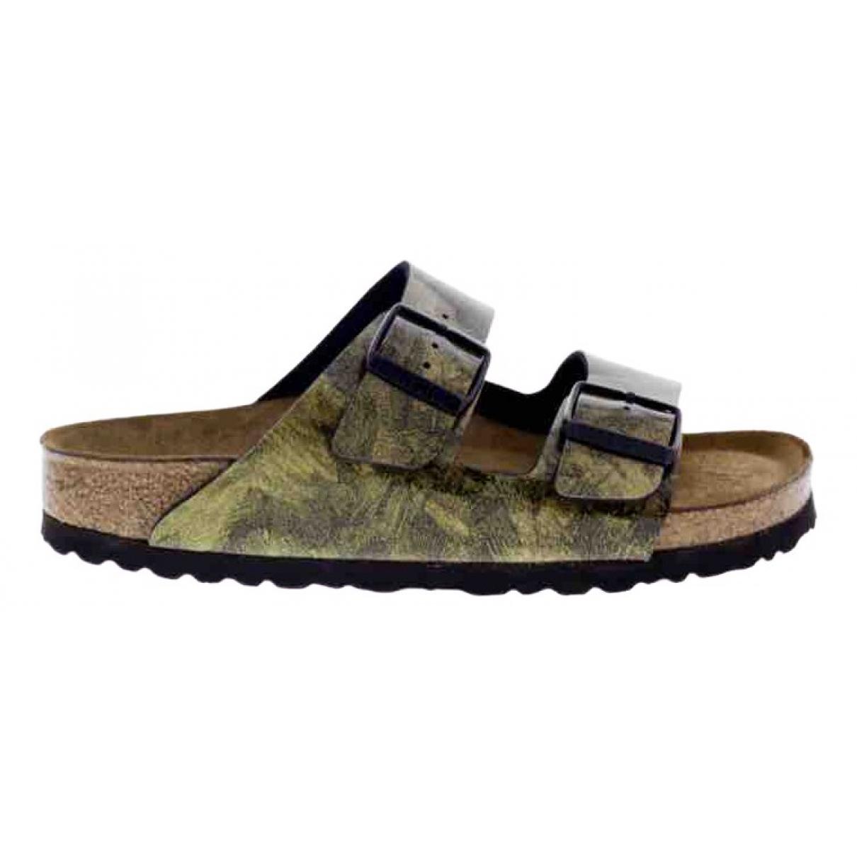 Birkenstock \N Gold Sandals for Women 39 EU