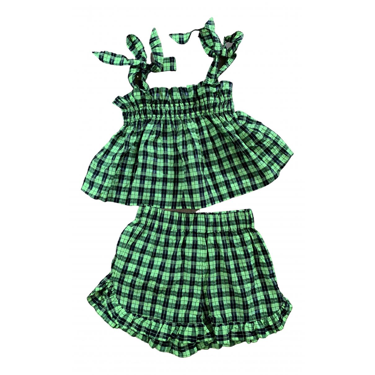 Ganni - Combinaison Spring Summer 2019 pour femme en coton - multicolore