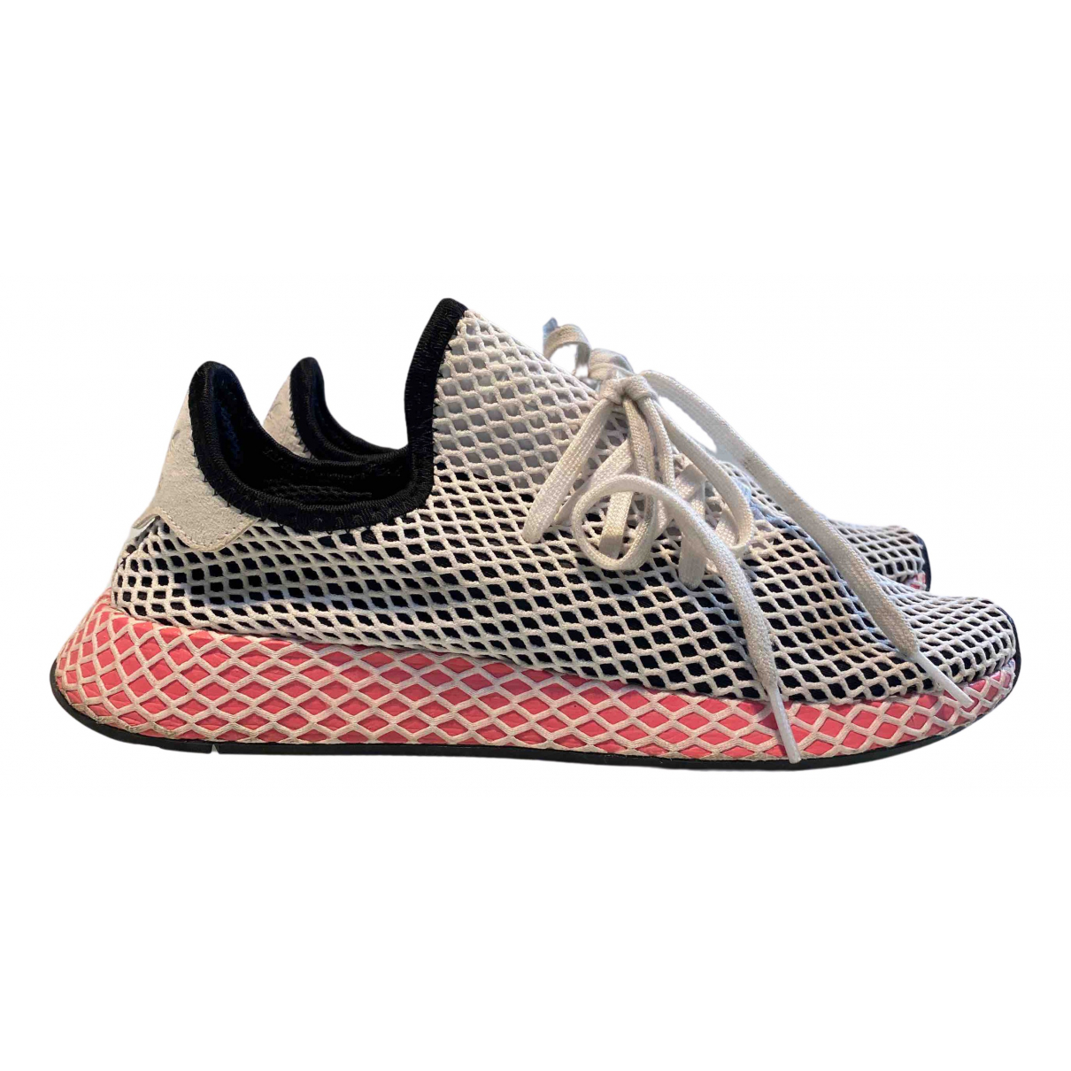 Adidas Deerupt Runner White Cloth Trainers for Women 42 EU