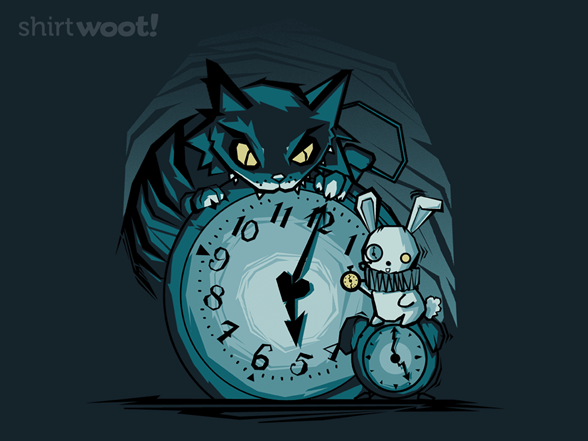 It's Time Alice… T Shirt