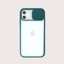 1pc Push Pull Lens Protection Cover iPhone Case