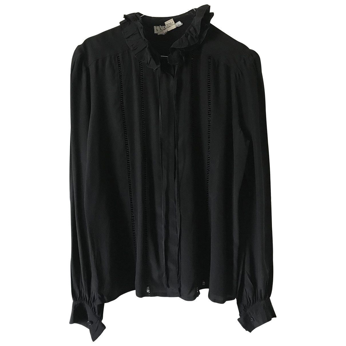 Ted Lapidus \N Black Silk  top for Women 38 FR