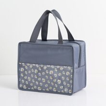 Isolierte Lunch-Tasche mit Gaensebluemchen Muster