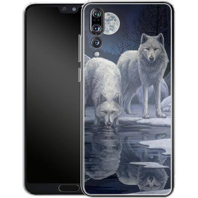 Huawei P20 Pro Silikon Handyhuelle - Warriors of Winter von Lisa Parker