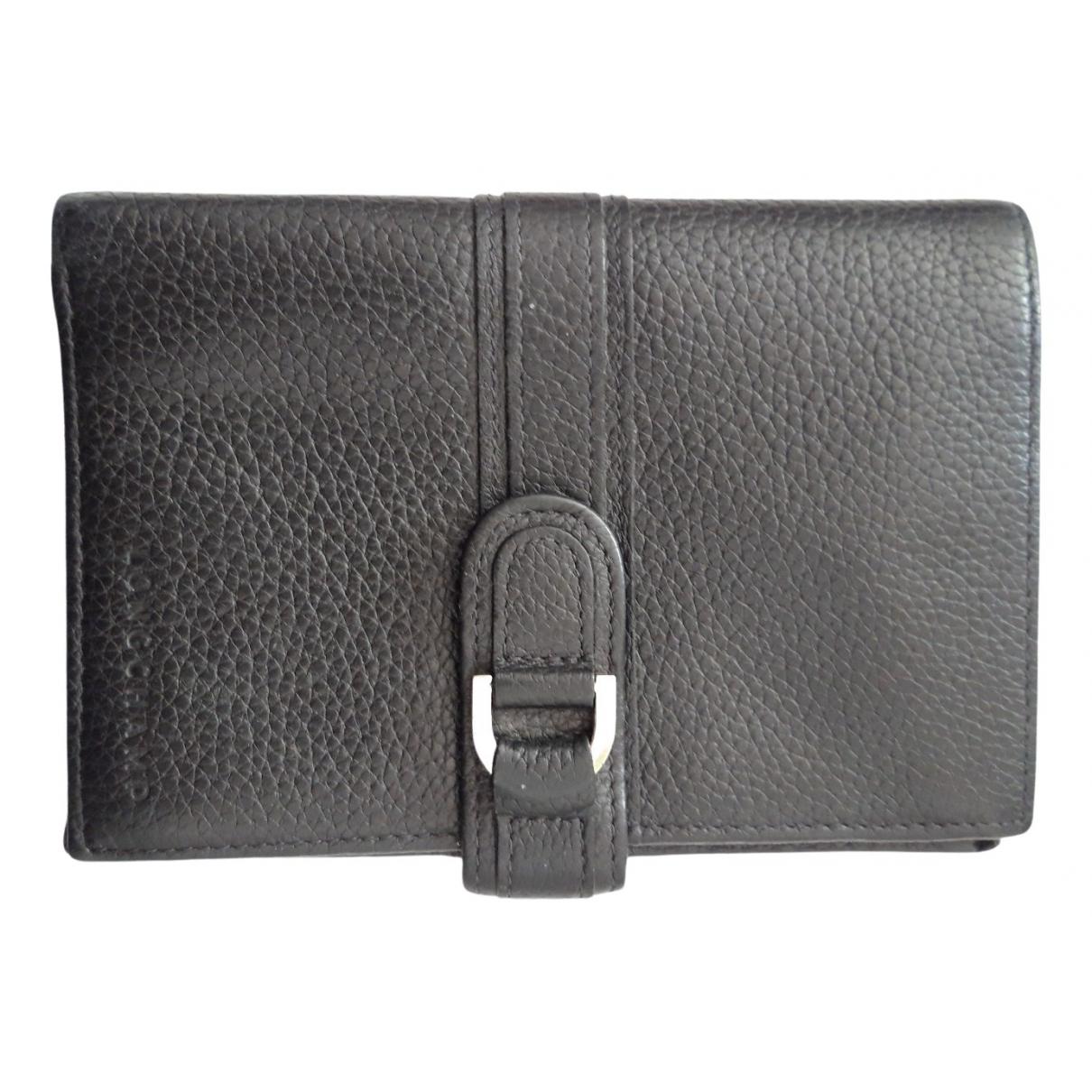 Longchamp \N Kleinlederwaren in  Schwarz Leder