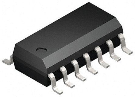 Toshiba 74HC132D, Quad 2-Input NAND Schmitt Trigger Logic Gate, 14-Pin SOIC (2500)