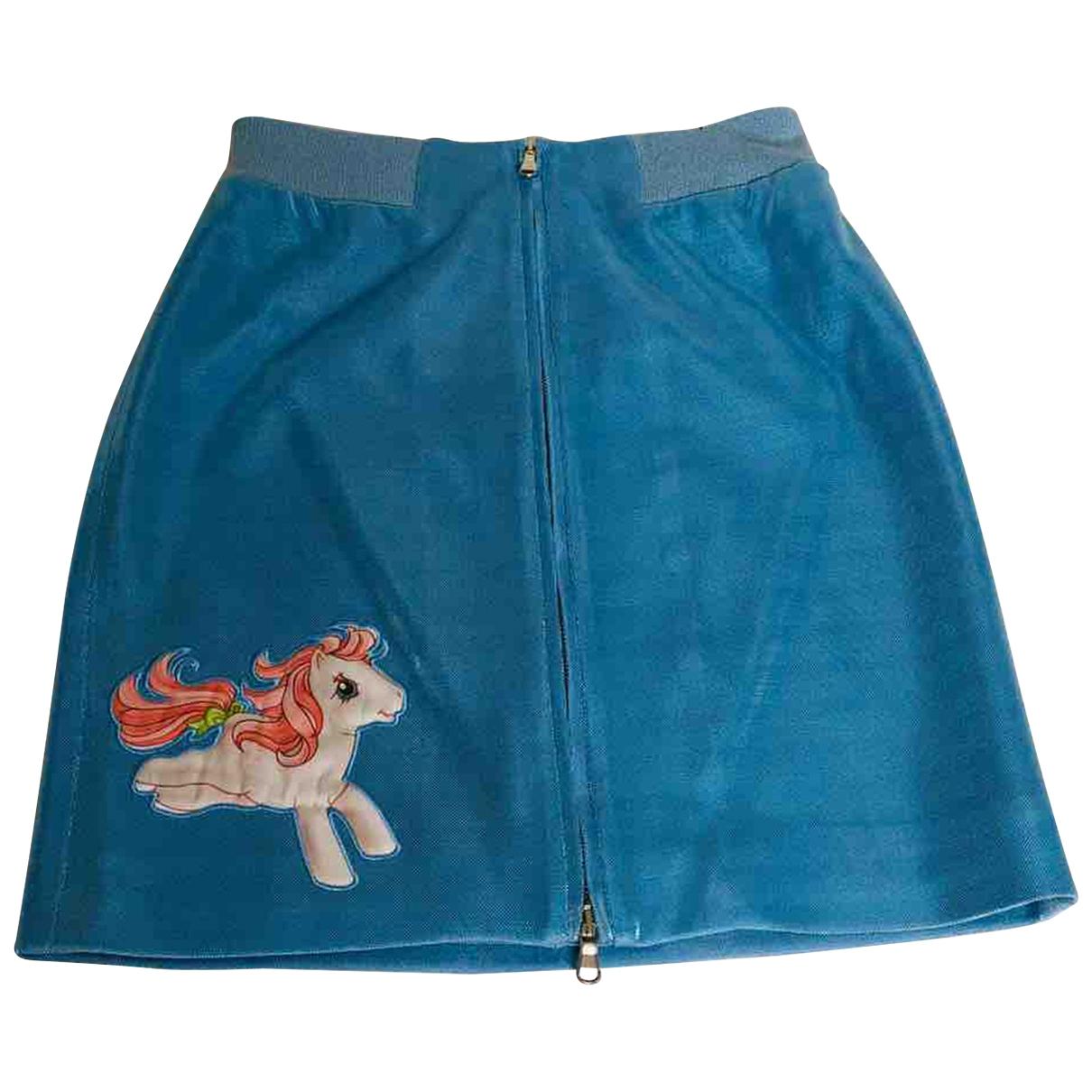 Mini falda Moschino