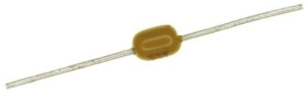 Vishay 1nF Multilayer Ceramic Capacitor MLCC 100V dc ±10% Axial A102K15X7RH5TAAV (50)