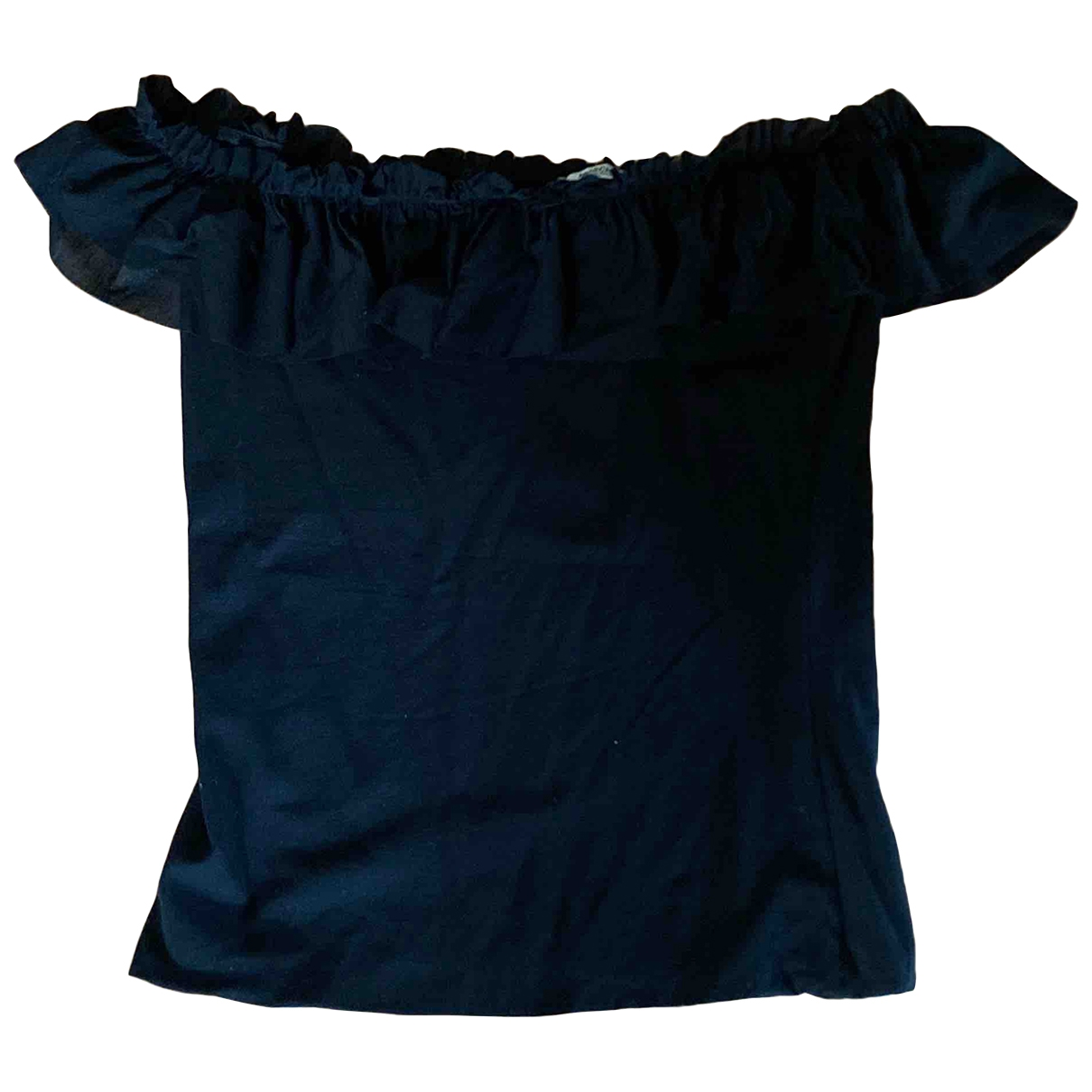 Moschino \N Black Cotton  top for Women 44 IT