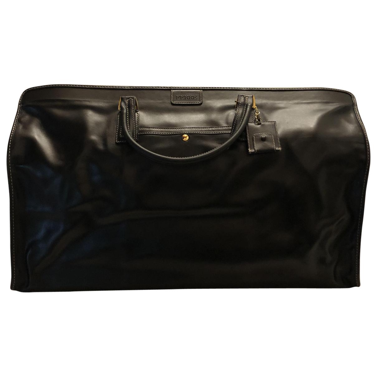 Gianfranco Ferré \N Black Leather bag for Men \N