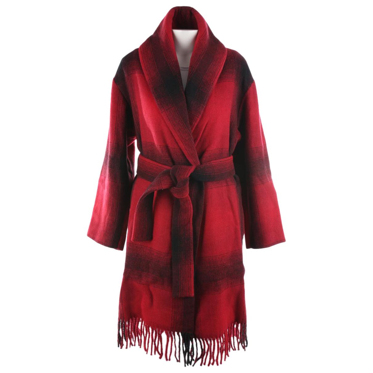 T By Alexander Wang - Veste   pour femme en laine - rouge
