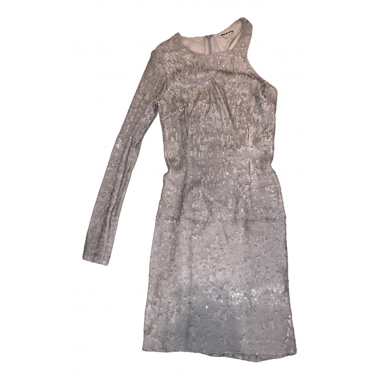 American Retro \N Kleid in Mit Pailletten