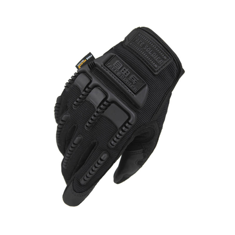 FREE SOLDIER Tactical Full Finger Glove Slip Resistant Gloves Elastic Tactical Gloves For Outdoor Sports Cycling Riding