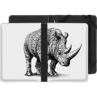 Amazon Kindle Paperwhite 3G eBook Reader Huelle - Rhinoceros von BIOWORKZ