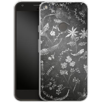 Google Pixel Silikon Handyhuelle - Flowers in chalk von ND Tank