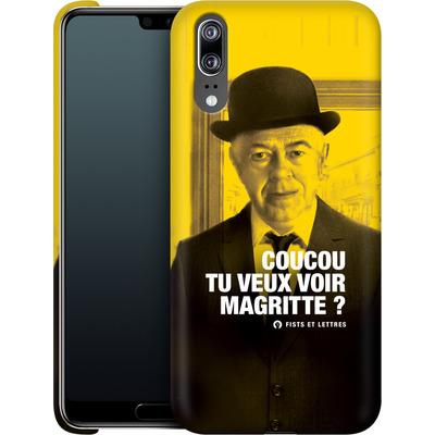 Huawei P20 Smartphone Huelle - Tu Veux Voir Magritte von Fists Et Lettres
