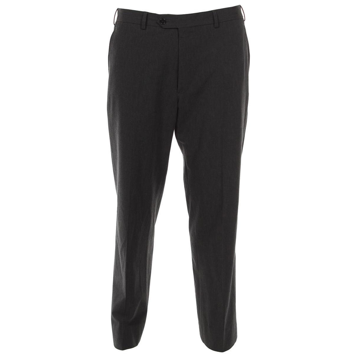 Armani Collezioni \N Grey Trousers for Men 36 UK - US