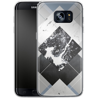 Samsung Galaxy S7 Edge Silikon Handyhuelle - Geometric Textures 5 von Mareike Bohmer