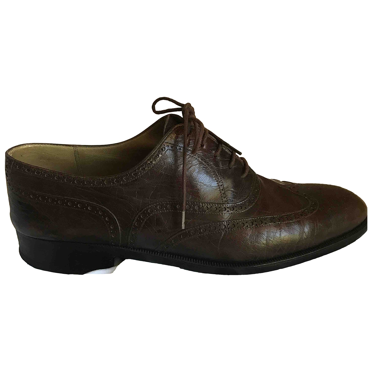 Berluti \N Brown Leather Lace ups for Men 9 UK