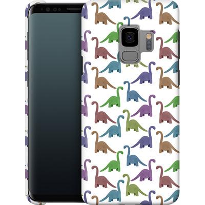 Samsung Galaxy S9 Smartphone Huelle - Cute Dinosaurs von Becky Starsmore