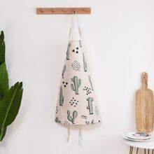 Schuerze mit Kaktus Muster