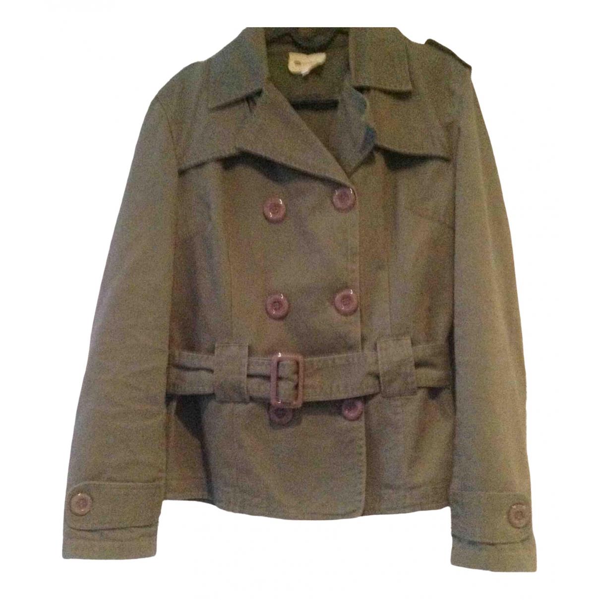 Vanessa Bruno Athe \N Khaki Cotton jacket for Women 38 FR
