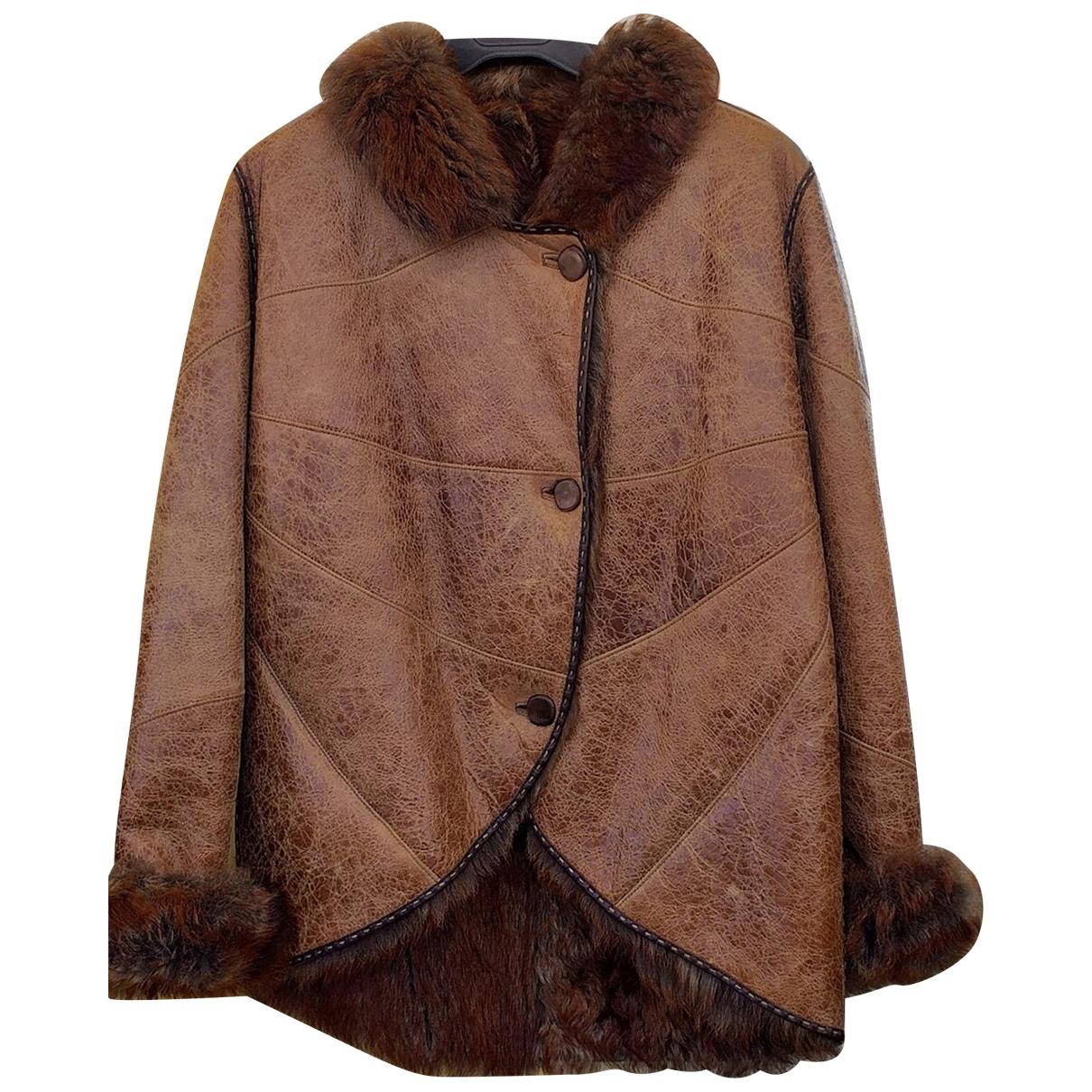 Fendi \N Brown Fur jacket for Women 36 FR