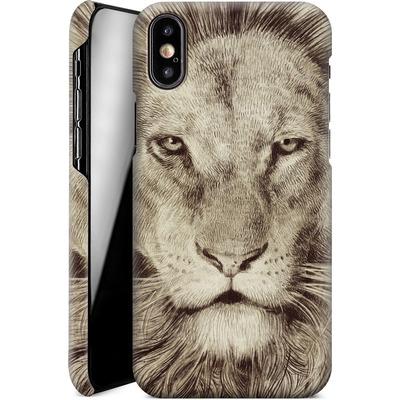Apple iPhone X Smartphone Huelle - Leo Lion von Eric Fan