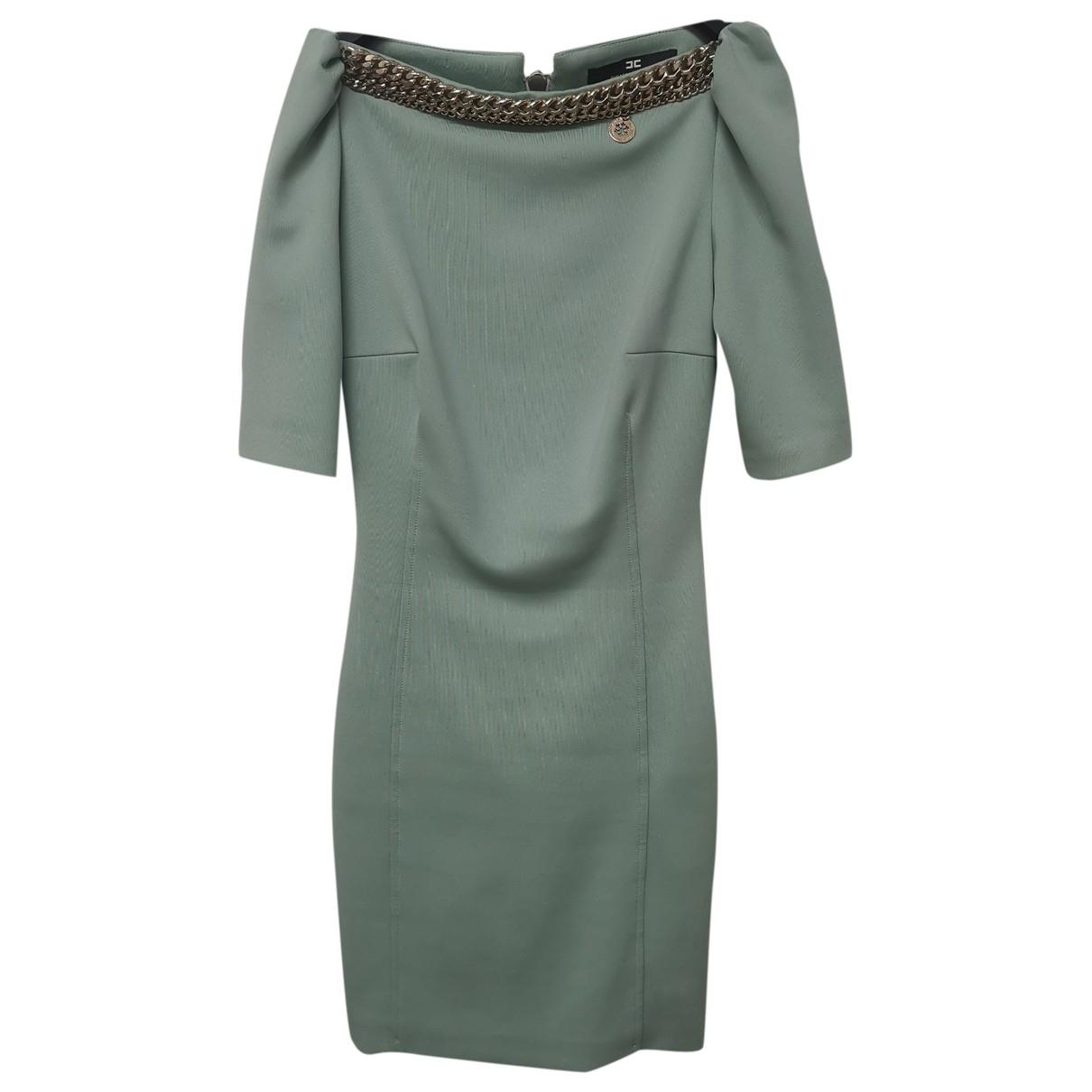 Elisabetta Franchi - Robe   pour femme - vert
